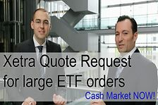 Cash Market NOW! Xetra Quote Request
